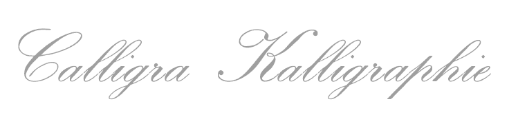 Text written in Calligra Calligraphy for LaTeX: Calligra Kalligraphie.