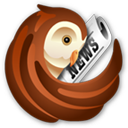 Link on www.rssowl.org. License information on the logo, secondary source: http://commons.wikimedia.org/wiki/File:RSSOwl.png